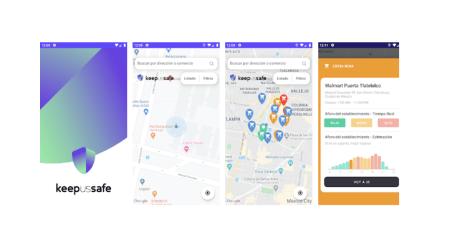 BBVA lanza la app KeepUsSafe para evitar lugares concurridos