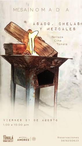 Cine Tonalá presenta su programación del 22 al 30 de agosto - asado-en-la-terraza-cine-tonala