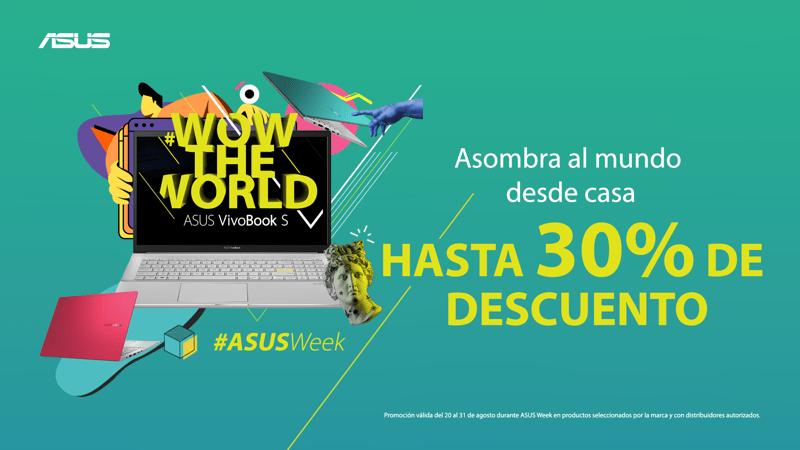 ASUS Week: grandes descuentos en laptops - asus-week-laptops-800x450