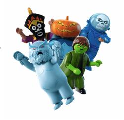Artículos oficiales de la nueva película de Scooby Doo - figuras-misterio-scooby-doo