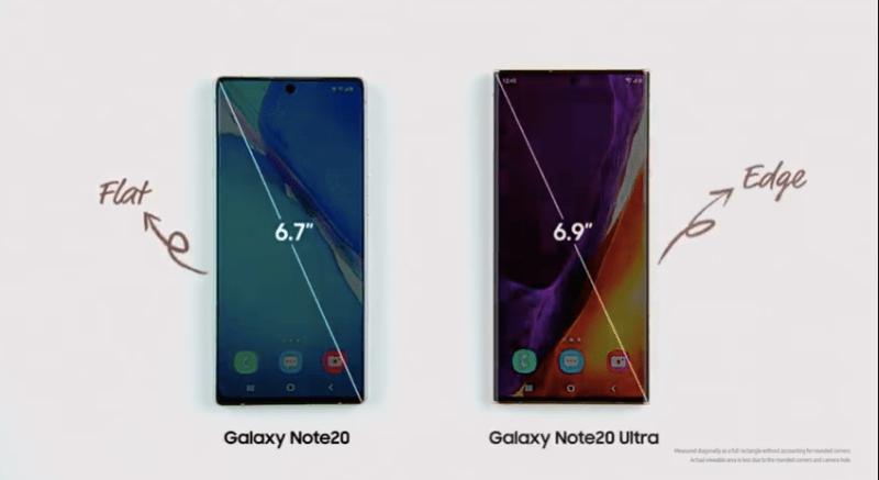 Samsung presenta nuevo ecosistema de dispositivos Galaxy 2020 ¡conoce sus características y precios! - galaxy-note-20-tamancc83os