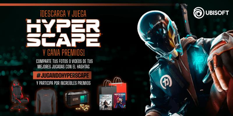 Descarga y juega Hyper Scape ¡participa por regalos y muchas más sorpresas! - hyper-scape-800x400