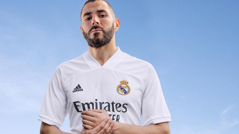 adidas presenta uniformes de clubes internacional para la temporada 2020/21 - jersey_real_madrid-800x450
