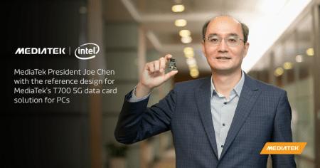 MediaTek e Intel en alianza para llevar 5G a la próxima generación de PC