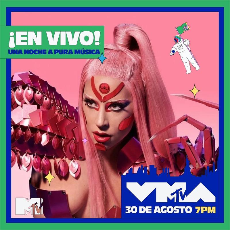 MTV Video Music Awards 2020, se transmitirá en vivo el 30 de Agosto - mtv-video-music-awards-2020-lady-gaga