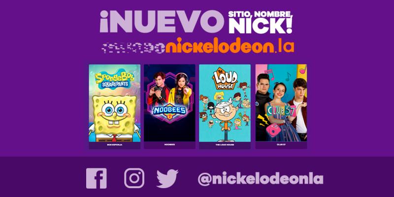Nickelodeon se renueva en sus plataformas digitales - nickelodeon-plataformas-digitales-800x400
