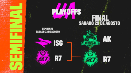 Gran final de LLA Clausura 2020: se enfrentarán Rainbow 7 y All Knights