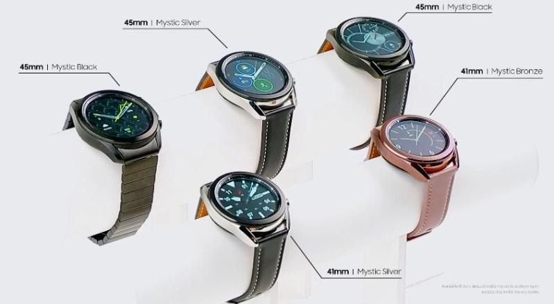 Samsung presenta nuevo ecosistema de dispositivos Galaxy 2020 ¡conoce sus características y precios! - samsung-galaxy-watch-3