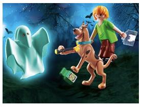 Artículos oficiales de la nueva película de Scooby Doo - scooby-shaggy-con-fantasma