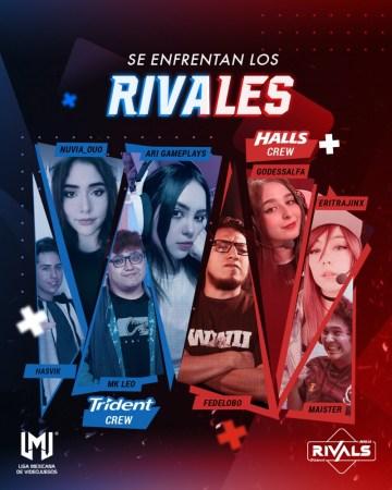 La segunda edición de Rivals se llevará en formato 100% online