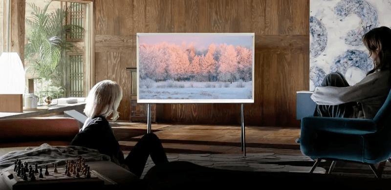 The Serif, televisor de samsung  que combina con tu decoración tal como un obra de arte - the-serif-tv-samsng