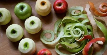 Usos de la cáscara de manzana que te sorprenderán