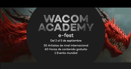 La cuarta edición de Wacom Academy llegará en septiembre