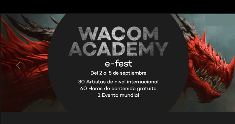 La cuarta edición de Wacom Academy llegará en septiembre - wacom-academy-digital-800x422