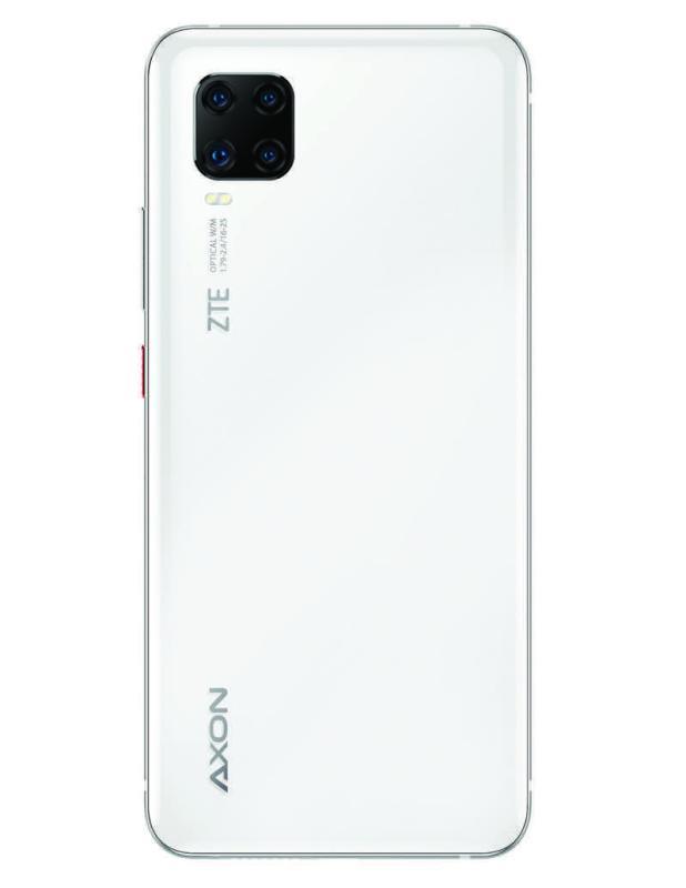 ZTE AXON 11 llega a México ¡conoce sus características y precio! - zte-axon-11-blanco-back-618x800
