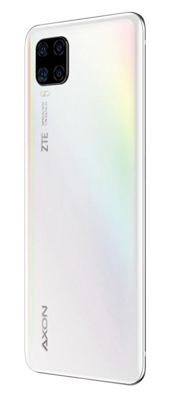 ZTE AXON 11, Blade A7 y Blade A3 2020 ¡ya disponible con AT&T! - zte-axon11-blanco-persp-back