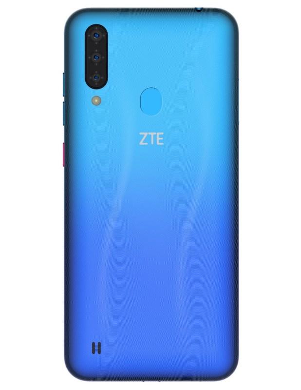 ZTE AXON 11, Blade A7 y Blade A3 2020 ¡ya disponible con AT&T! - zte-blade-a7-2020-aqua-back