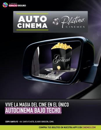 Cinemex apertura el primer Autocinema Platino en Ciudad de México