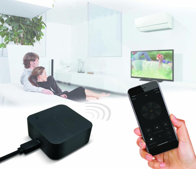 Nuevo control remoto infrarrojo de TechZone para automatizar tu hogar o negocio - control_remoto_infrarrojo_techzone_1-800x688