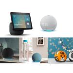 Nuevos Echo, Echo Dot y Echo show 10: diseños renovados y calidad de audio mejorada