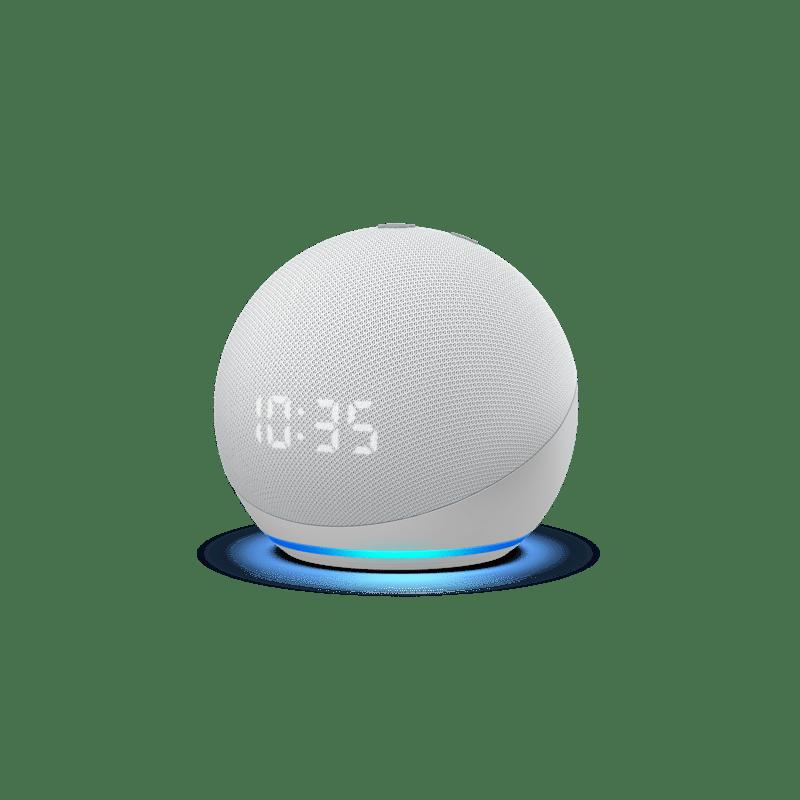 Nuevos Echo, Echo Dot y Echo show 10: diseños renovados y calidad de audio mejorada - echodotconrelojblanco