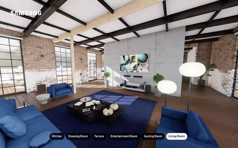 Esto fue lo que Samsung presentó durante Life Unstoppable - experience_living-room
