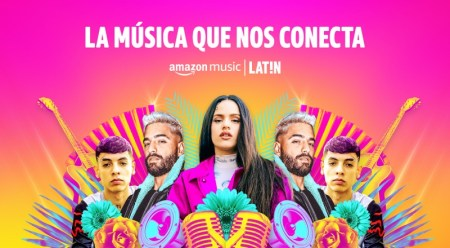 Amazon Music anuncia el lanzamiento de Amazon Music LAT!N