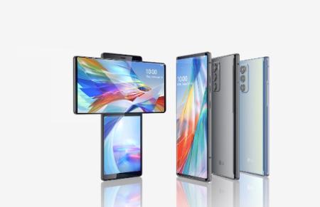 LG Wing, el primer smartphone con doble pantalla giratoria