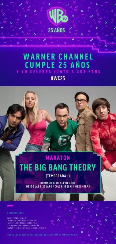 Maratón Warner Channel: The Big Bang Theory este 13 de septiembre - maraton-warner-the-big-bang-theory