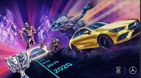 Mercedes-Benz es el socio automotriz exclusivo de los eventos de League of Legends Esports