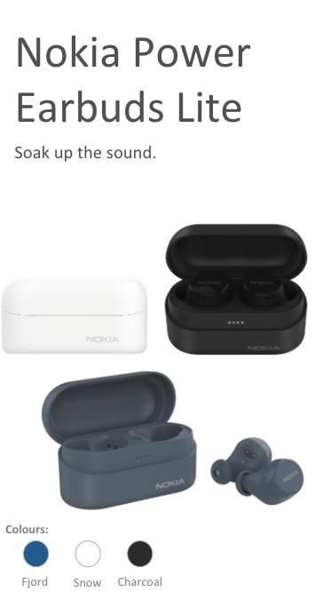 Nuevos smartphones: Nokia 3.4 y Nokia 2.4 ¡conoce sus características! - nokia-power-earbuds-lite_auriculares-inalambricos