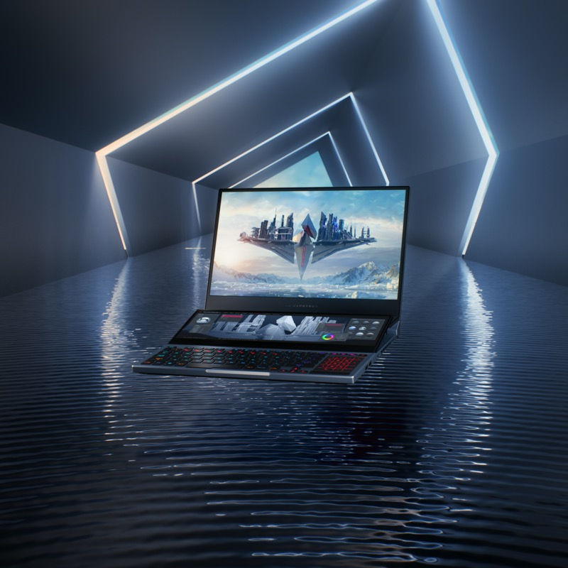 Zephyrus Duo 15, la laptop con doble pantalla para gaming llega a México - rog_zephyrus_duo_15