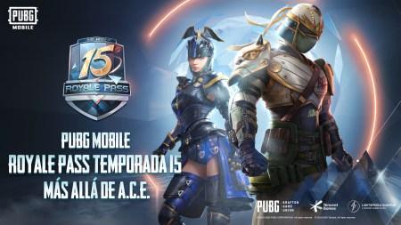"El Royale Pass de PUBG Mobile ""Más Allá De A.C.E"" trae personalizables recompensas"
