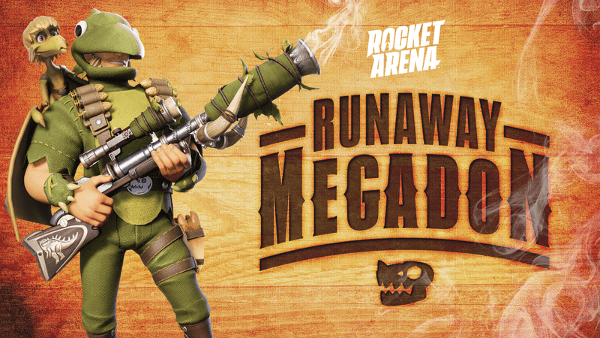 El evento Rocket Arena Runaway Megadon ¡ya disponible! - runaway-megadon