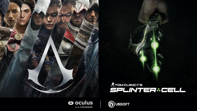 Ubisoft anuncia que está desarrollando dos títulos en exclusiva para la plataforma Oculus - ubisoft-oculus-800x450
