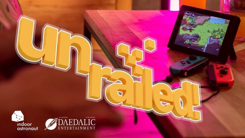 Unrailed! ya está disponible en Steam, PlayStation 4 y Nintendo Switch - unrailed-nintendo-switch-800x450