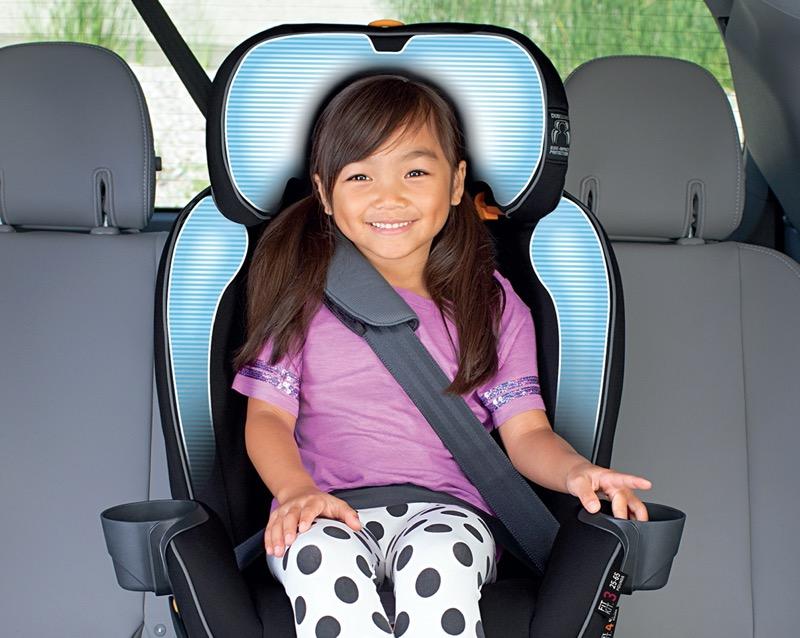 Fit4 de Chicco, asiento de auto convertible cuatro en uno, para que los menores viajen seguros - viajen-seguros-en-auto_1-800x638