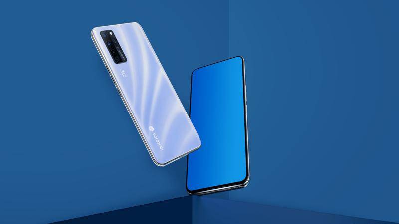 ZTE presenta Axon 20 5G, el primer smartphone con cámara debajo de la pantalla - zte-axon-20-5g-azul-800x450