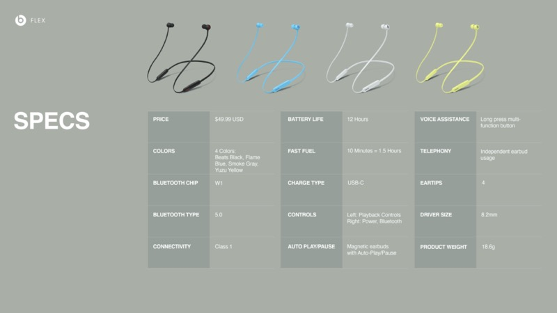 Nuevos Beats Flex con tecnología de Apple de Beats by Dr. Dre - beats-flex_pages-especificaciones