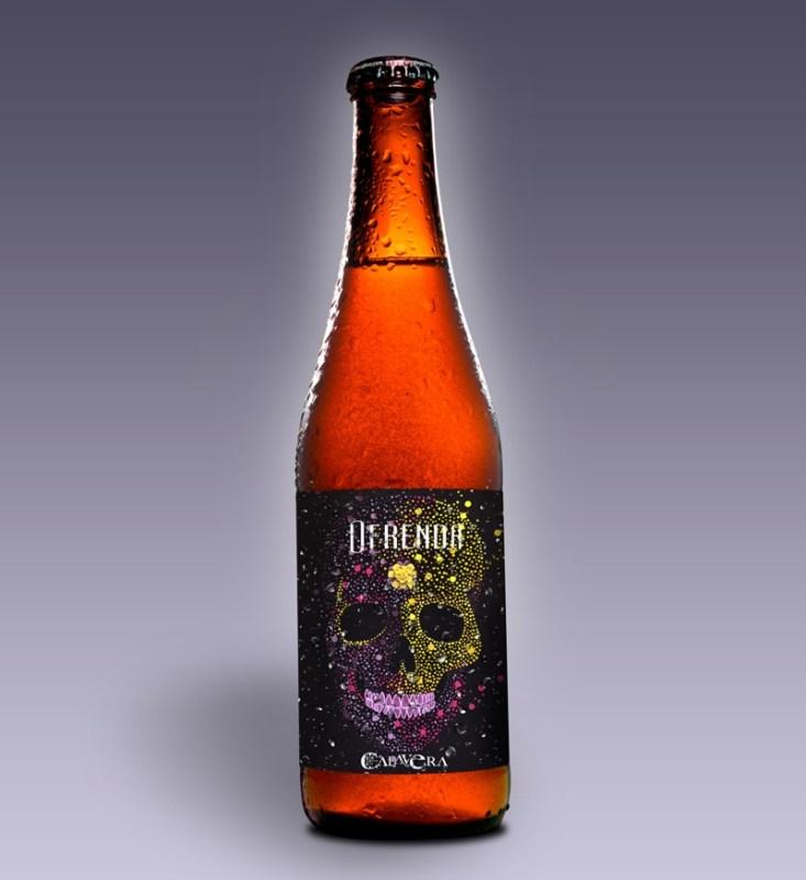 Ofrenda: la cerveza hecha con calaveritas de azúcar y calabaza - cerveza-ofrenda-calavera-733x800
