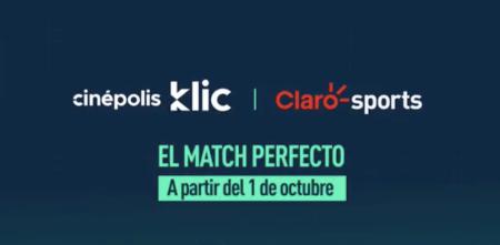 Ahora Claro Sports disponible en Cinépolis Klic