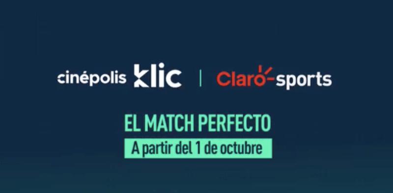 Ahora Claro Sports disponible en Cinépolis Klic - claro-sports-cinepolis-klic-800x393