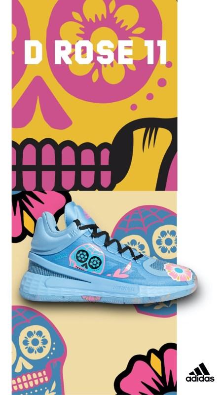 """adidas presenta su colección """"Día de Muertos"""" para honrar y celebrar las tradiciones Mexicanas - d-rose-11-adidas-450x800"""