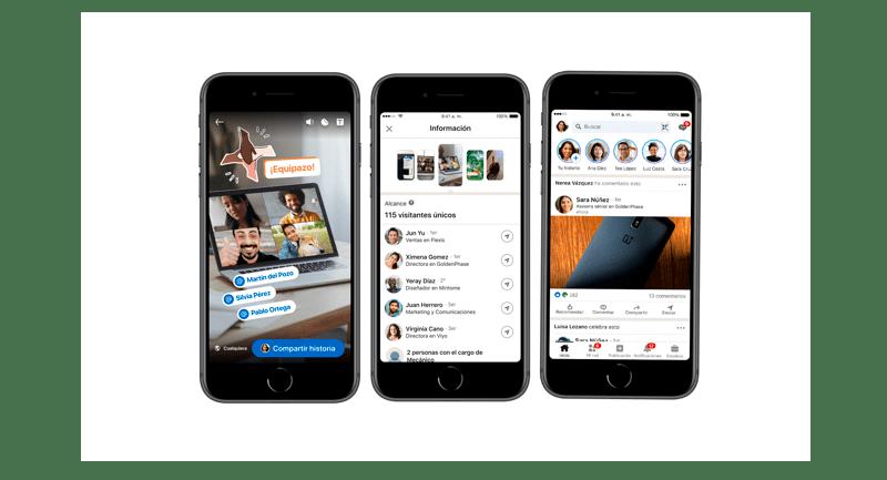 Historias de LinkedIn llegó a México - historias-linkedin-800x433