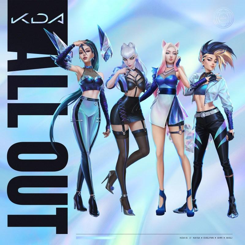 K/DA, grupo virtual de pop de League of Legends, anuncia fecha de lanzamiento de su nuevo EP - kda-grupo-virtual-pop-league-of-legends