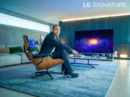 LG anunció que Lewis Hamilton, será embajador global de LG SIGNATURE