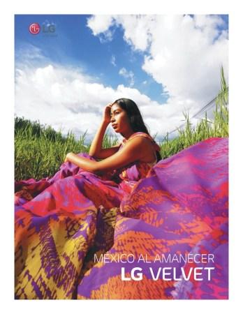 LG Velvet lanza álbum digital «México al amanecer» en colaboración con 14 artistas