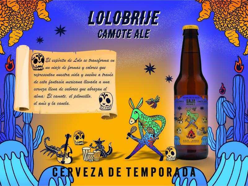 """Cerveza """"Lolobrije"""": hace tributo a las tradiciones mexicanas de los alebrijes y el Día de Muertos - lolobrije"""