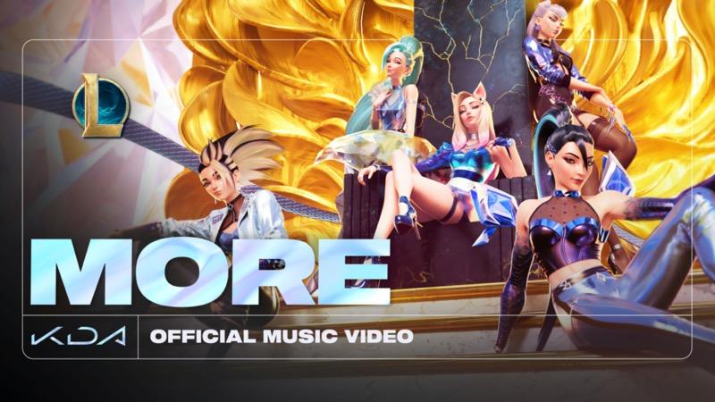 """Nuevo video: K/DA presenta """"MORE"""", el tema principal de su próximo EP - more"""