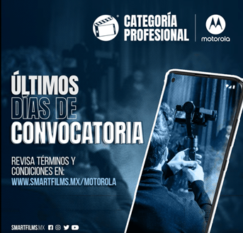 Motorola y SmartFilms hacen un último llamado para participar en la categoría Profesional - motorola-smartfilms